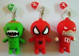 4GB Novelty Spiderman USB Memory Stick 2.0 Flash Drive. PRESENTED IN A FREE METAL GIFT BOX by NUT