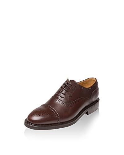 BRITISH PASSPORT Zapatos Oxford Toe Cap Pardo