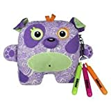 Inkoos Glow in the Dark - Purple Dog - Toy
