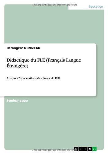 didactique du fle  fran u00e7ais langue  u00c9trang u00e8re   french edition