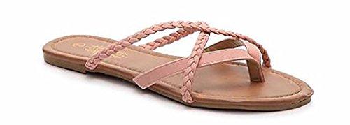 charles-albert-womens-selene-strap-multi-sandal-in-blush-braided-size-6