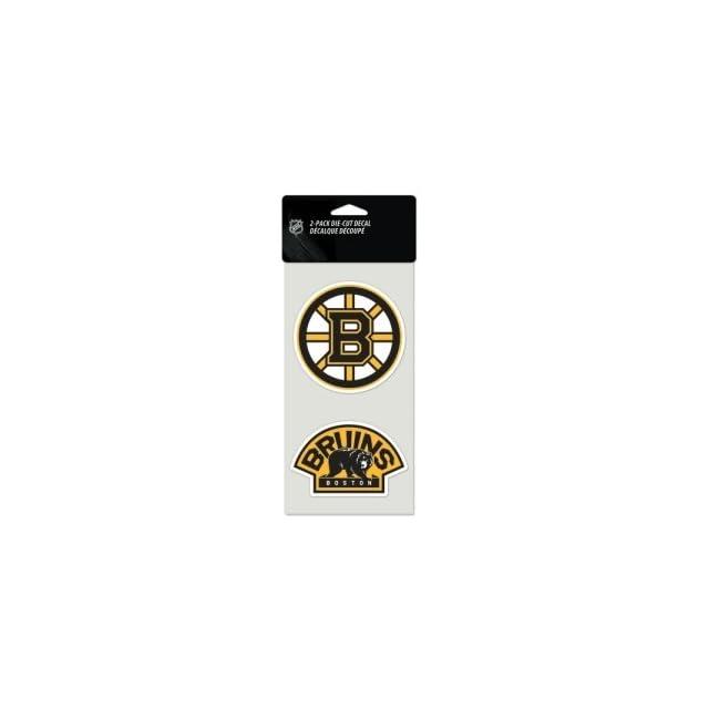Boston Bruins Set Of 2 Die Cut Decals