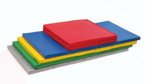 運動マット 軽量折式カラーマット L-621 園・学校・児童館で人気商品! 日本製