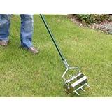 Greenkey 23cm Compact Rolling Lawn Aerator