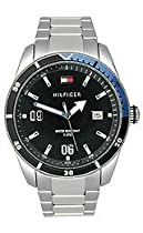 Tommy Hilfiger Noah Black Dial Stainless Steel Mens Watch 1790778