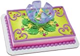 Tinker Bell in Flower Cake Topper Set / 1 Each