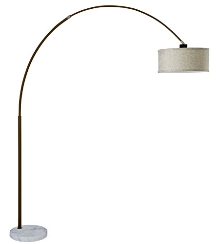 sh-lighting-6938es-steel-adjustable-arching-floor-lamp-with-marble-base-81h-white