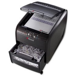 Brand New. Rexel AutoPlus 60X Shredder Confetti Cross Cut 15 Litre DIN 3 4x50mm 60x 80gsm Ref 2103060