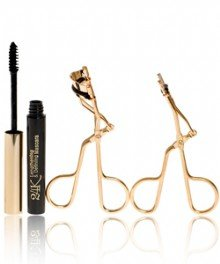 limited edition e.l.f. 24k Gold Essentials Eyelash Collection Large & Small Eyelash Curlers & Mascara 3pc set elf - Eyes, Lips, Face