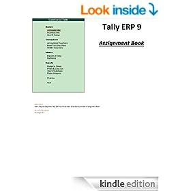 Tally ERP 9: Assignment Book