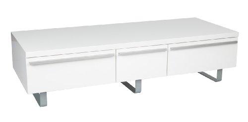 Iconic ESWH-UKT004 White Gloss 3 Door TV Stand