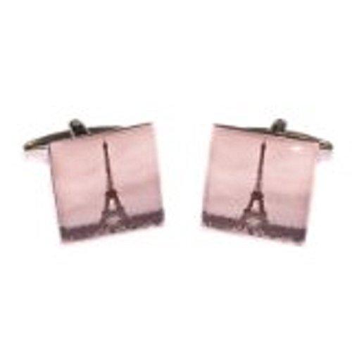 Gtr Men'S Cufflinks X2Fp006 Eiffel Tower One Size