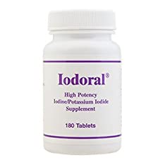 Iodoral (Iodine/Iodide)180 tabs by Optimox