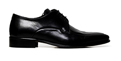 Cristiano Gualtieri uomo scarpe eleganti stringate in pelle 625 LINUX NERO