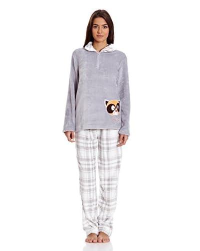 Muslher Pijama Sra Con Camisa Media