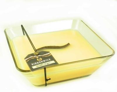 VANILLA SUGAR Decor Glass - Ribbonwick Scented Candle