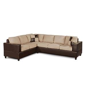 Amazon - Bobkona Trenton Sectional Sofa - $558.69