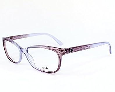 Amazon.com: Gucci eyeglasses GG 3699 VSP Optyl Transparent ...