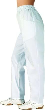 LEIBER Damen-Hose - mit Rundumgummizug - weiß 38,Weiß