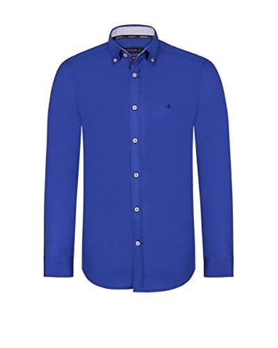 SIR RAYMOND TAILOR Camicia Uomo [Blu Royal]