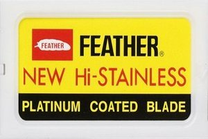 10 lamette Feather New Hi-Stainless (1 pacchetto)