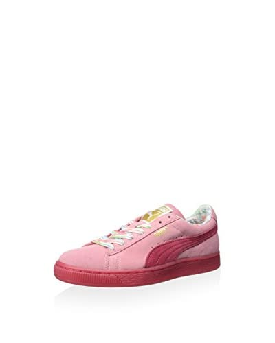 PUMA Women's Suede Classic Lo Coastal Sneaker  [Flamingo Pink]