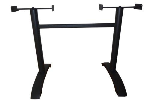 Tischgestell Tisch Gestell 2+2-Fuß anthrazit Alu Neu