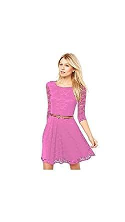 Exclusive Designer Pink Dresses Clothing