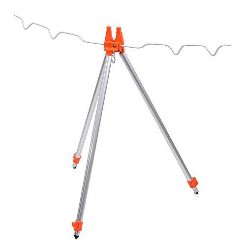 Sea Beach Cast Surfcasting Fishing Rods Holder Portable Aluminum Alloy ...