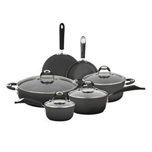 Bialetti 10-pc Aluminum Cookware Set with Silicone Handles ;P#O455K5/U 7RK-B286056