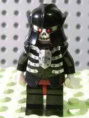 LEGO Minifigure Fantasy Era - Skeleton Warrior - 1