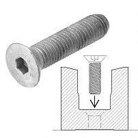 CRL/Blumcraft® Fastener 5/8