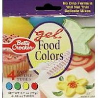 Betty Crocker Classic Gel Food Colors - 4 CT