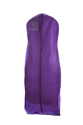 new breathable purple wedding gown garment bag by bags for lesstm 609613494819. Black Bedroom Furniture Sets. Home Design Ideas