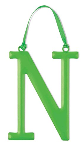 Mud Pie Metal Initial Wall Hanging, N, Large