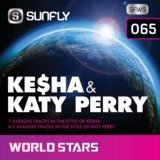 Kesha & Katy Perry Sunfly Karaoke World Stars CDG Disc by Kesha & Katy Perry