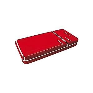 Trousse Plumier Boîte Rétro Forme Réfrigérateur Rouge Smeg