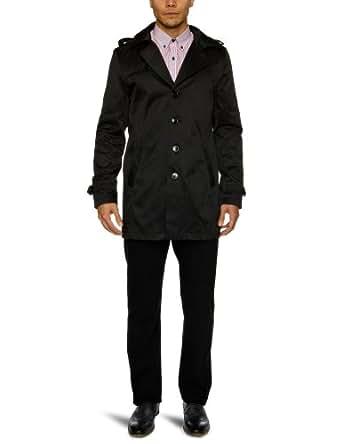 SELECTED HOMME Herren Trench Coat 16029177 Adams Trenchcoat