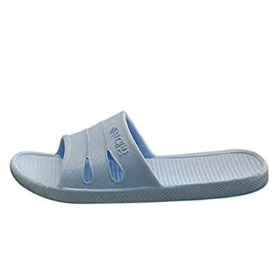 qianle hollow out non slip bathroom shower slippers