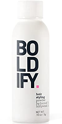 Boldify Volume Powder for Thin Hair - Instantly Thickens and Adds Huge Lift, Body and Style to Fine and Thinning Hair - The Premium Hair Thickener For Women and Men