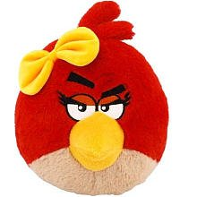 "Angry Birds 16"" Girl Bird with Sound, Red - 1"
