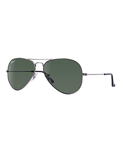 Ray-Ban RB3025 004/58 Medium Size 58 Aviator Polarized Sunglasses