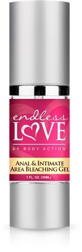 Body Action Endless Love Anal and Intimate Area Bleaching Gel, 1 Ounce