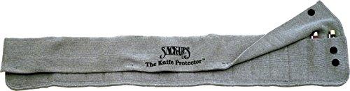 "Sack-Ups Grey Knife Protector 18 Holds 18 - 3"", 4"", 5"" knives"