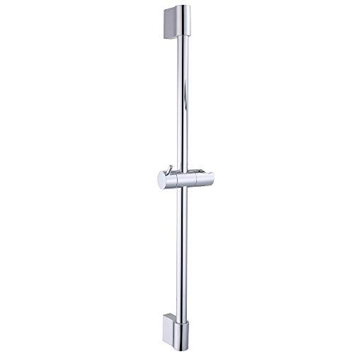 KES F200 Hand Shower Slide Bar with Height Adjustable Sliding Sprayer Holder, Chrome (Shower Head Sliding Bar compare prices)