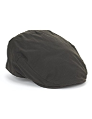 Pure Cotton Waxed Flat Cap