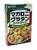 ハウス食品 マカロニグラタン クイックアップ 2皿分 ×40個