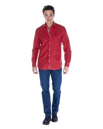 Giorgio di Mare Camicia Uomo [Rosso]