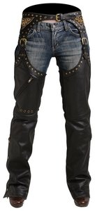 Pokerun MARILYN 2.0 CHAPS BLACK SIZE:LRG