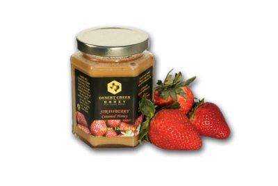 14oz Strawberry Creamed Honey